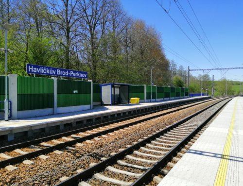 trať Havlíčkův Brod – Okrouhlice2018
